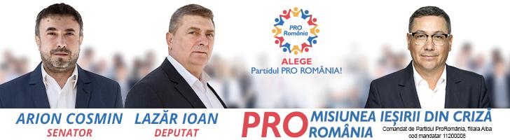 PRO ROMÂNIA - Alegeri parlamentare 2020