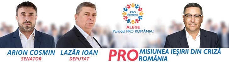 Pro România - Misiunea ieșirii din criză