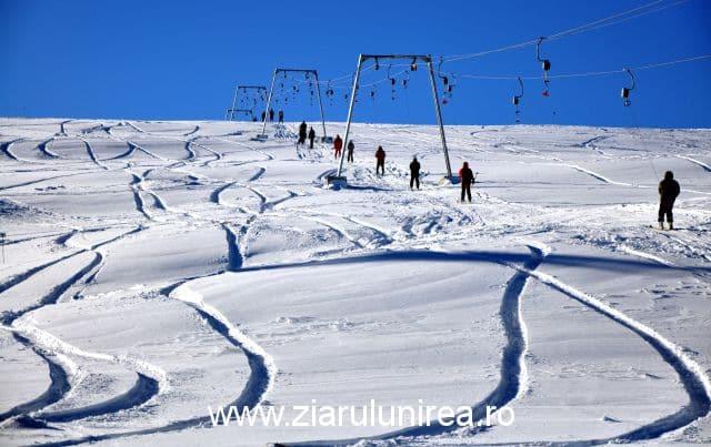 Partie schi snowboard Sureanu Alba