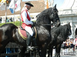 ceremonialul schimbare Garda Cetatii Alba CArolina (23)