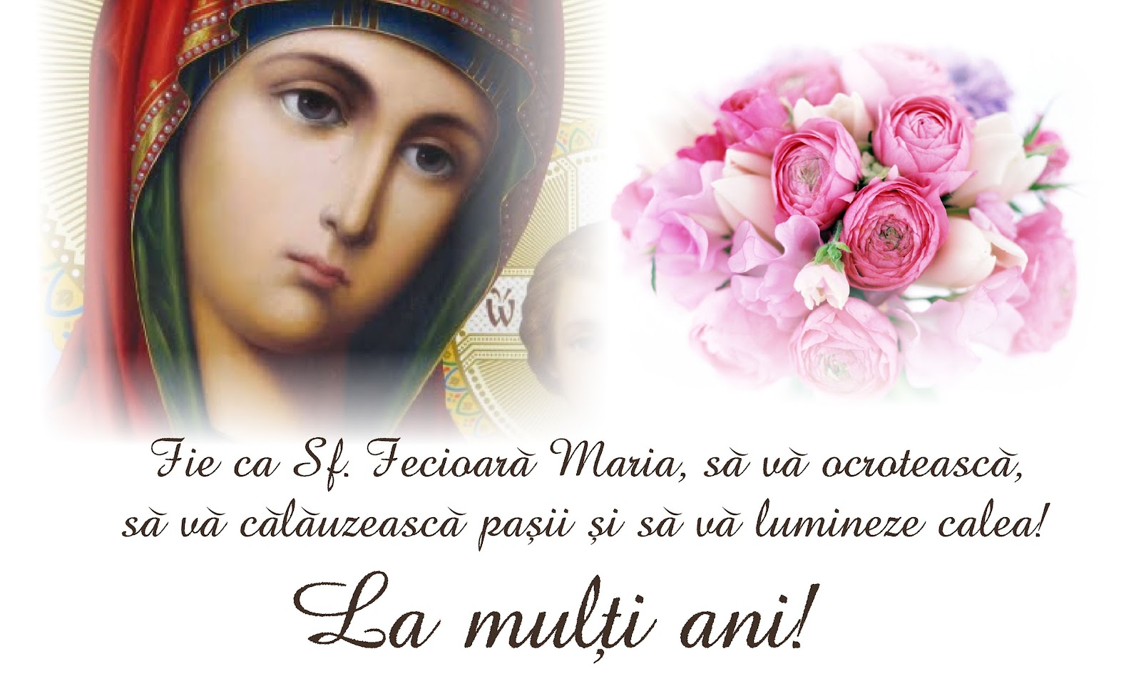 Image result for la multi ani de sfanta maria