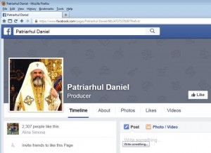 facebook Patriarhul Daniel