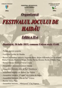 Festivalul jocului de Haidau