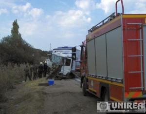 accident mortal DN1 autocar militar Teius (1)