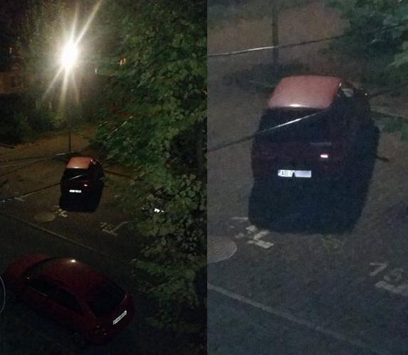 parcare pe doua locuri