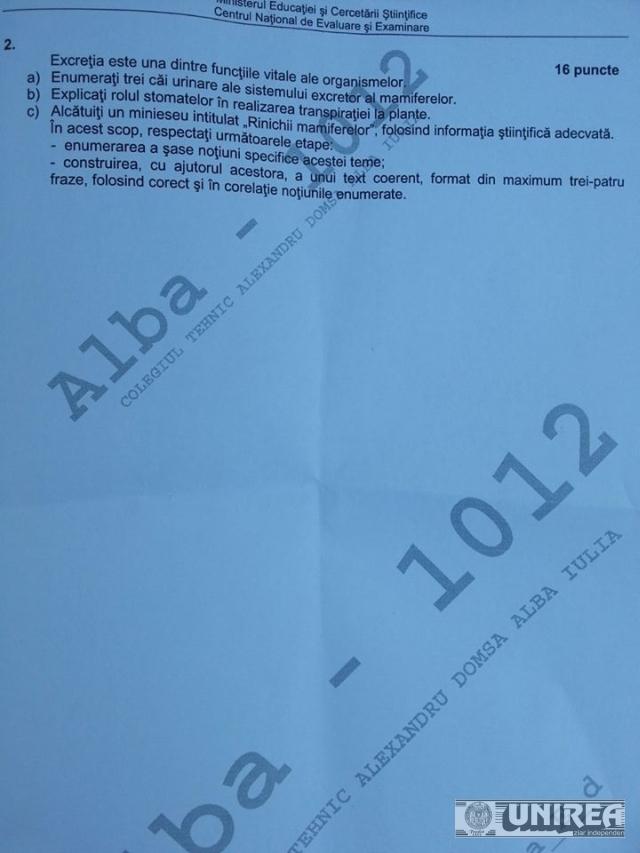 Subiecte BAC biologie03