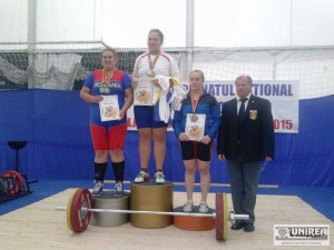 Carmen Pirva haltere CS Unirea Alba Iulia 4