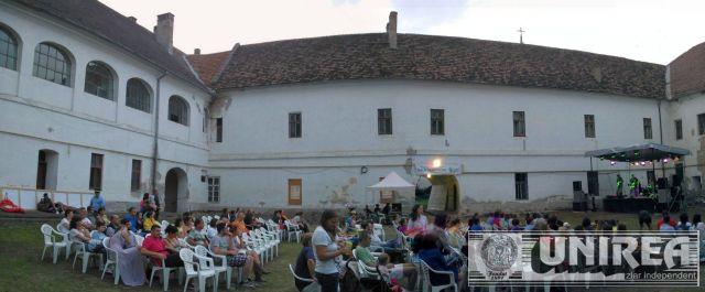curte Palatul Principilor_Music Film Festival Alba Iulia