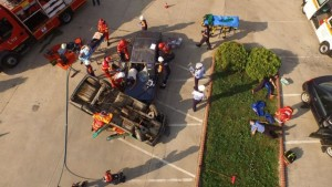 exercitiu accident ISU la Sebes5