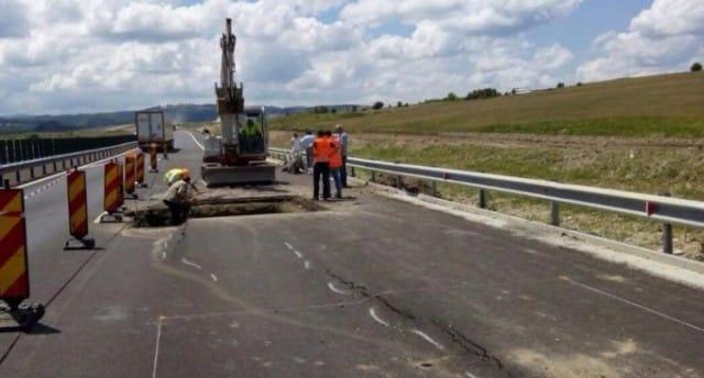 autostrada-demolata Sibiu Orastie