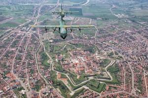 Cetatea Alba Iulia din MIG 21 by Adrian Dulau