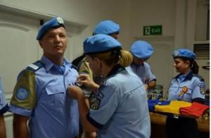 jandarm medaliat de ONU