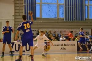 Romania - Ungaria handbal cadeti 90