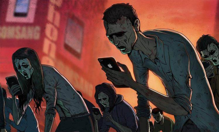 Artist illustrates modern day life and it's terrifying Source: Steve Cutts / Via stevecutts.comenhanced-buzz-wide-