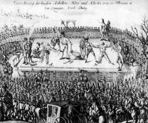 Executie Horea, Closca
