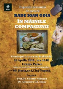 Afis expozitie Radu Goia