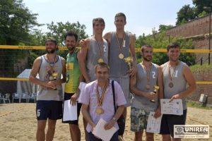 Universitatea de Vest Timisoara volei pe plaja Alba Iulia