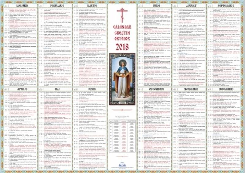 Calendar Ortodox 2018: Aprilie - luna în care avem 7 ...