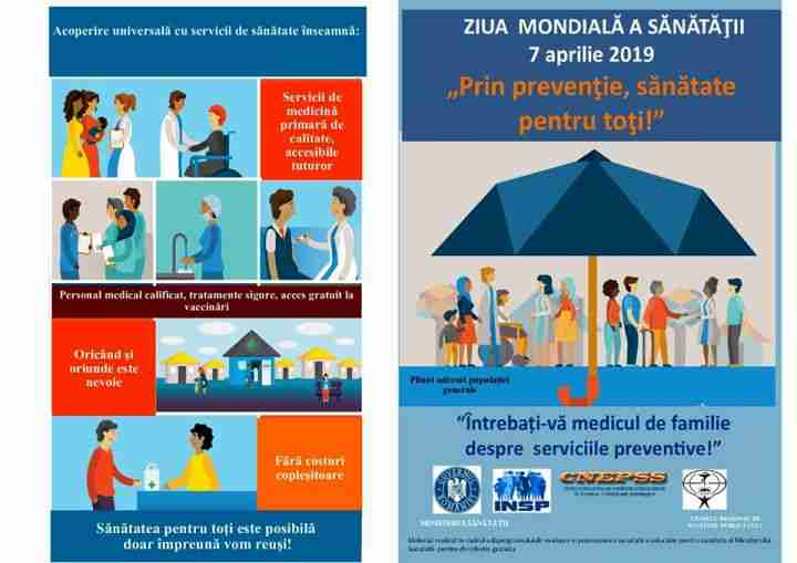 CLASA NOASTRĂ: 7 aprilie – Ziua Mondiala a Sanatatii  |Ziua Mondiala A Sanatatii