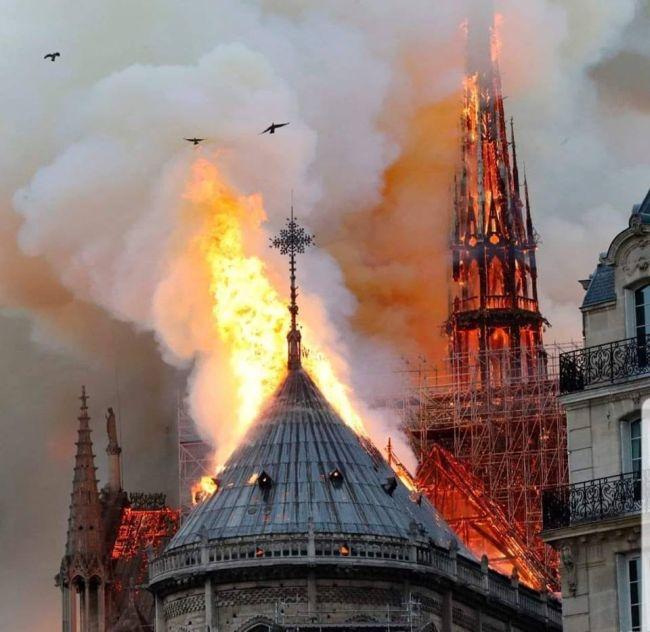 Donație de 1 milion de euro pentru Catedrala Notre Dame, din