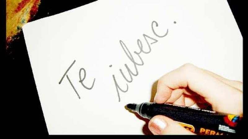 poți să- ți scrii brațele