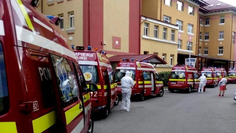 Instalația de oxigen a unui spital din țară, DEFECTĂ. A fost activat planul roșu de intervenție și pacienții COVID sunt ventilați manual în ambulanțe